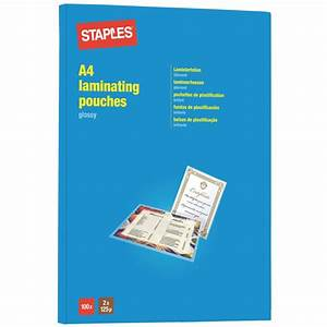 sale on staples laminating pouches a4 250 micron pack With laminate documents staples