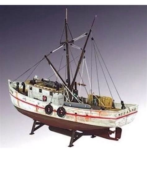 Fishing Boat Model Kits by Lindberg 1 60 Scale Shrimp Boat Unassembled Plastic Model