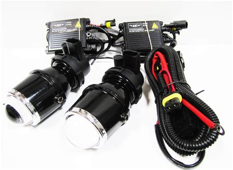 hid fog lights projector hid xenon fog lights universal 6000k cool white