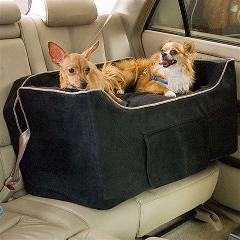 snoozer black luxury lookout ii double dog car seat petco