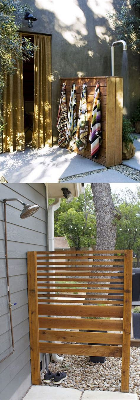 wrap around curtain rod 32 beautiful diy outdoor shower ideas for the best