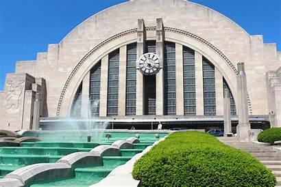 Museum Center Cincinnati Fountain Water Terminal Union