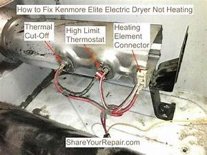 Kenmore Dryer Heating Element Wiring Diagram