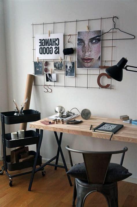 le de bureau industrielle idées de décoration d 39 un bureau style industriel archzine fr