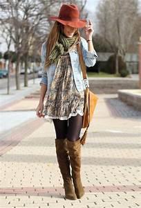 Style Bohème Chic Femme : comment portet la robe hippie chic ~ Preciouscoupons.com Idées de Décoration