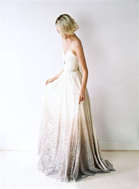 diy dip dye ombre wedding dress jake steff wedding