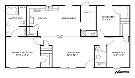 Clayton Homes Floor Plan Search by Clayton Homes Home Floor Plan Manufactured Homes