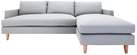 chaises ées 50 clad home sectional sofa with reversible chaise chairish