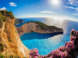 zakynthos island in the in greece navajo sea
