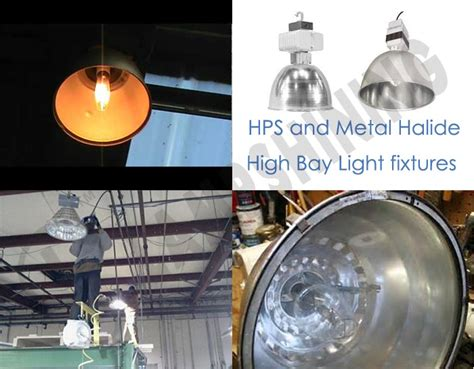 led high bay light fixtures replacement metal halide or