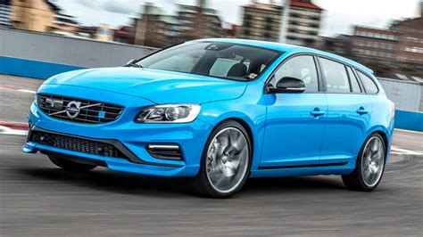 Volvo V60 Road Test by Road Test Volvo V60 T6 350 Polestar 5dr Geartronic