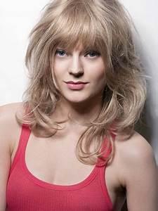 Frange Cheveux Long : coupe de cheveux mi long avec meche ~ Melissatoandfro.com Idées de Décoration