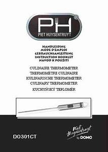 Domo Do301ct Thermometer Download Manual For Free Now
