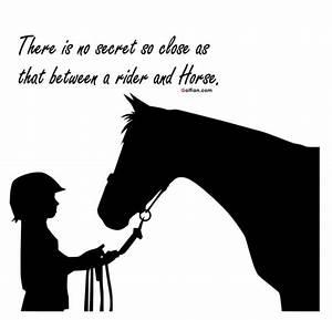 60+ Best Inspir... Ride Horse Quotes