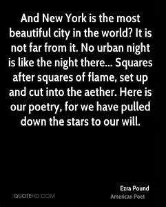 Ezra Pound Poet... City Poetry Quotes