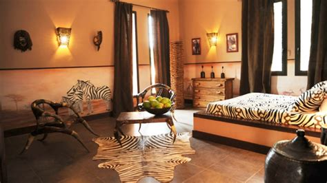 chambre style africain décoration chambre ambiance africaine exemples d