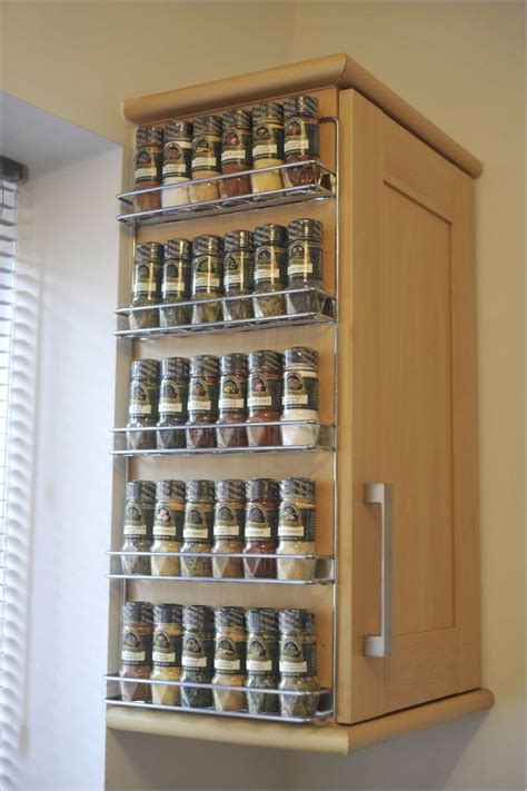 Spice Rack Wall Shelf by Wall Spice Rack Ideas Home Interior Design Styles