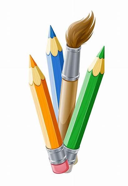Clipart Brush Paint Pencil Pen Paintbrush Craft
