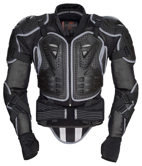 motocross jacket cortech accelerator protector armored jacket revzilla