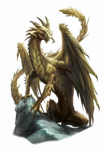 Dragon Brass Ancient Monsters Pg Aonprd 2e