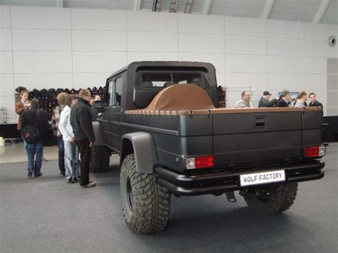 monster mercedes benz  wagen pick truck conversion
