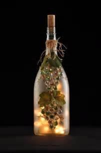 bing wine bottle crafts with lights craft ideas pinterest