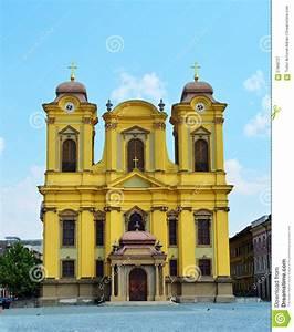 Timisoara Cathedral Of Saint George Stock Image - Image ...