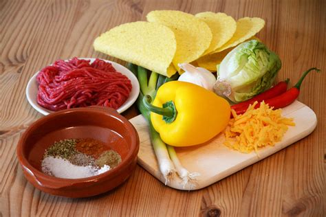 rezept aus zutaten tacos aus mexiko das original rezept mit hackfleisch