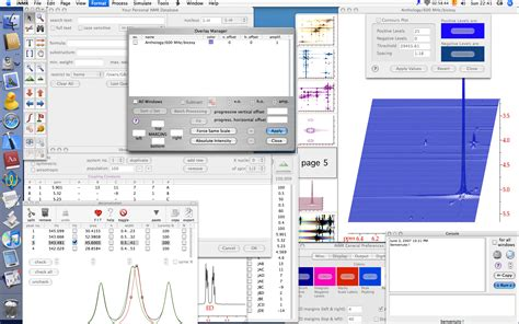 Proton Nmr Database by Delta Software For Nmr Database Softwareomatic