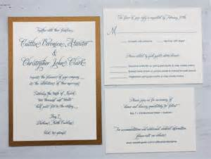 fancy wedding invitations peacock blue antique gold modern script formal wedding invitations emdotzee designs