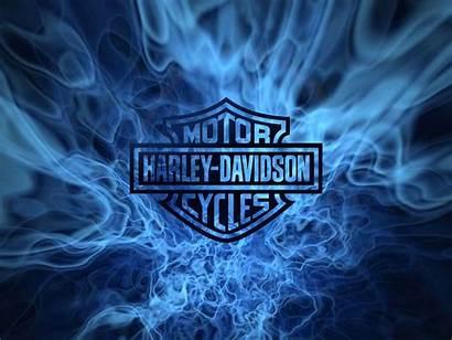 Davidson Harley Screen Flames Sfondi Dal Italia