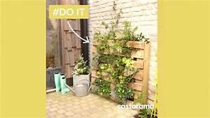 Mur Végétal En Palette : diy fabriquer un mur v g tal avec une palette castorama youtube ~ Melissatoandfro.com Idées de Décoration