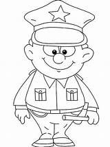 Police Officer Coloring Pages Colouring Cute Netart Woman Sheets Preschool Printable Crafts Uniform Community Helpers Kid Getdrawings Modest Became Excellent sketch template
