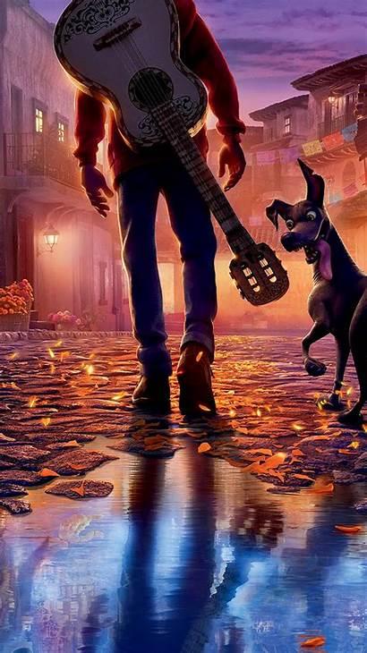 Disney Pixar Coco Anime Illustration Iphone Filme