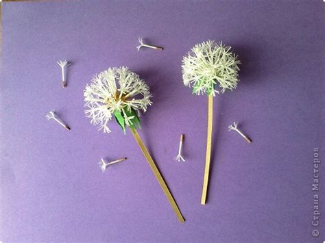 beautiful paper dandelions icreativeideascom