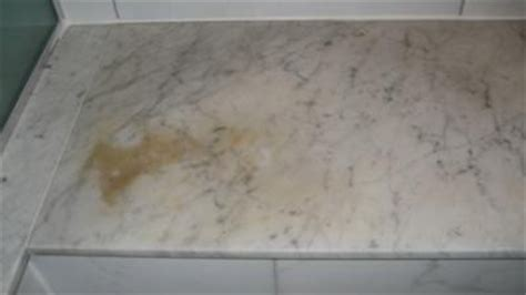do quartz countertops stain white marble but scared you ll stain it here s your