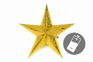 3d Stern Basteln 5 Zacken : papierstern 3d 10 led gold weihnachtsstern faltstern ~ Lizthompson.info Haus und Dekorationen