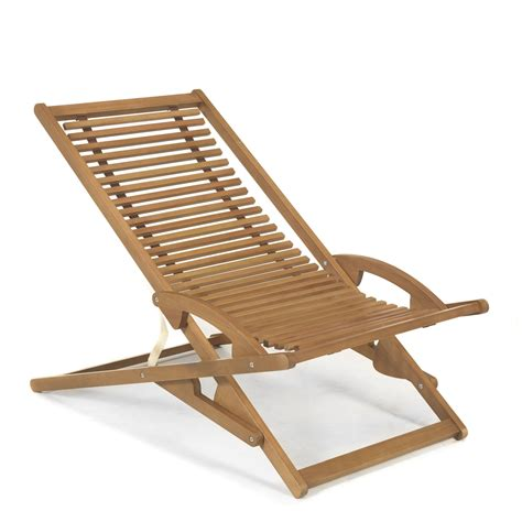 chaise longue chilienne chaise longue de jardin basculante chilienne naturel