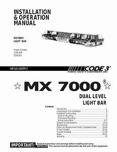 28 Code 3 Excalibur Lightbar Wiring Diagram