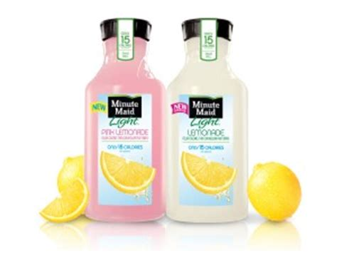 minute light lemonade minute light lemonade and new light pink lemonade