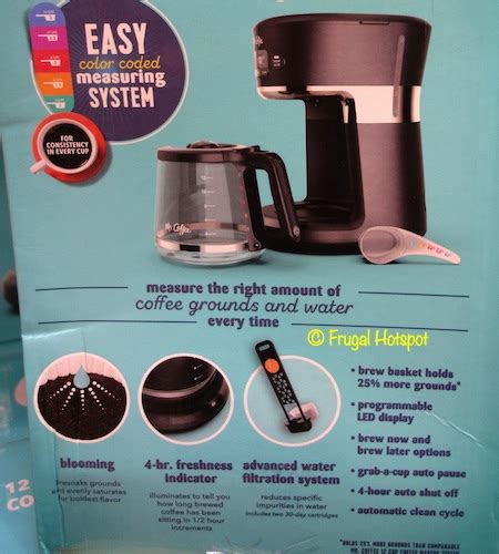 Your coffee maker should give you many years of great use as your first coffee maker did. Costco Sale - Mr. Coffee 12-Cup Easy Measure Brewer $29.99 | Frugal Hotspot