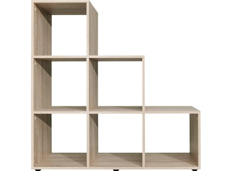 etagere escalier 6 cases chene biblioth 232 que salon