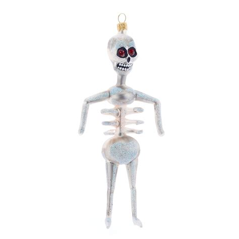 skeleton christmas ornament gump s
