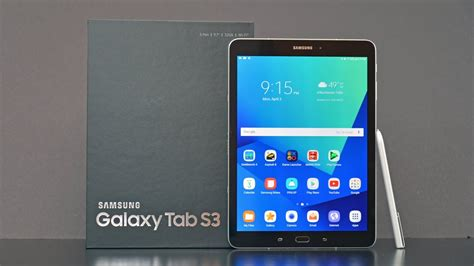 samsung galaxy tab s3 unboxing review