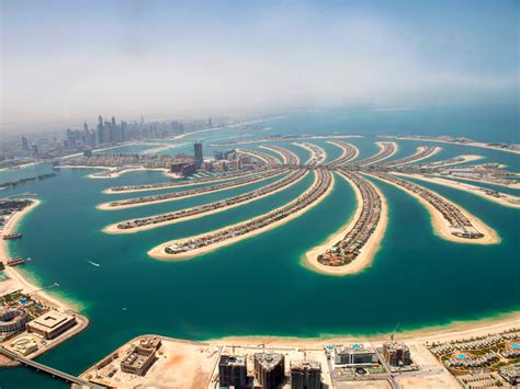 I stayed at a hotel on Dubai's massive artificial island ...