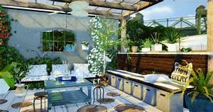 sims 4 maison de luxe interieur With plan de maison facile 4 mas provencal sims 4 telechargement cc maison