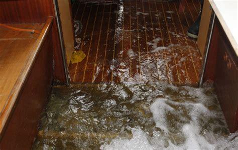 Crash Valves Boat by Crash Test Boat Broken Seacock