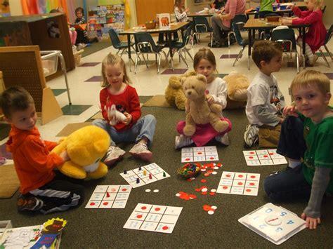 program highlights 880   Preschool Teddy Bear Day BINGO
