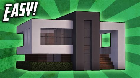 Modernes Haus Minecraft Klein by Minecraft How To Build A Small Modern House Tutorial 14