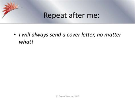 the importance of creative cover letters